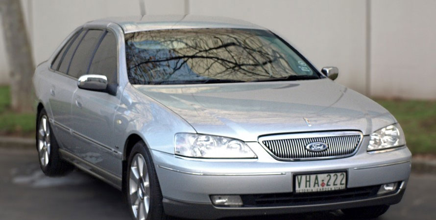 Ford Fairlane Ghia                                     4 Seater Leather interior, All luxury features included